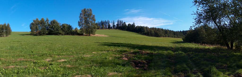 Meadow under Skopiec