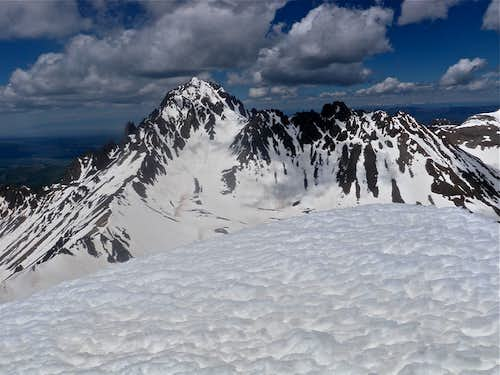 Mount Sneffels from Gilpin Peak