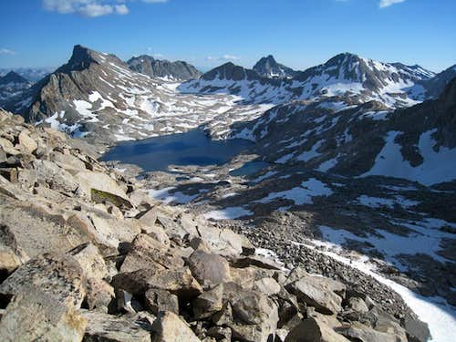 Helen Lake near Muir Pass