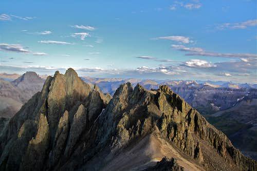 Kismet - cluster of peaks