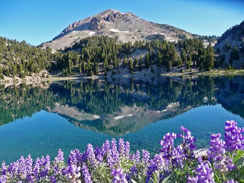 A Beautiful View of Lassen Peak