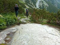 Walking over Tatras slickrock
