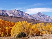 Falls colors near South Lake...