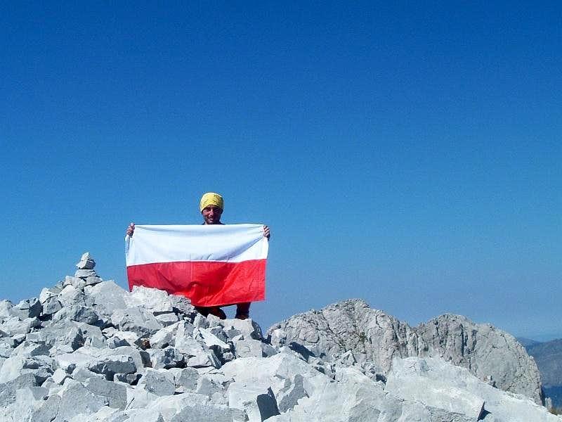 Summit of Maja Shkurt