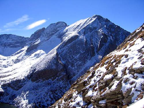 Kit Carson Mountain seen from...