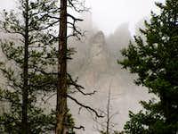 Fog Shrouded Peaks