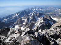 Grand Teton, summit view south