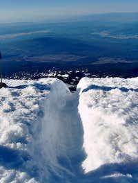 Mt. Adams glissade tubes