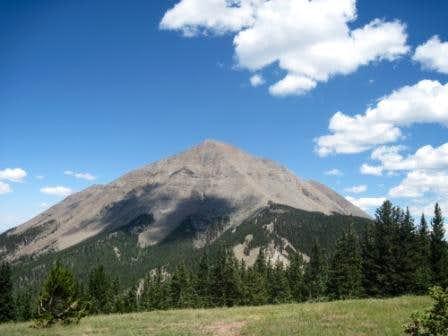 West Spanish Peak - we did THAT?