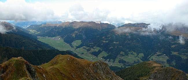 Summit view Schulterhöhe:...