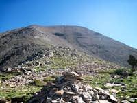 West Spanish Peak - the shales