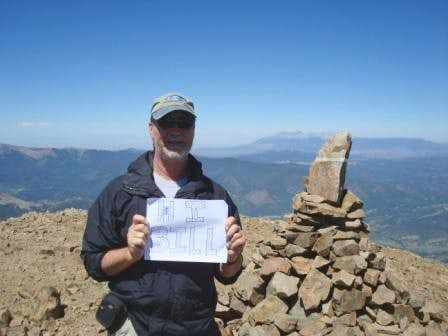 West Spanish Peak - Greetings to Bill