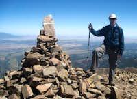 West Spanish Peak -- at the top