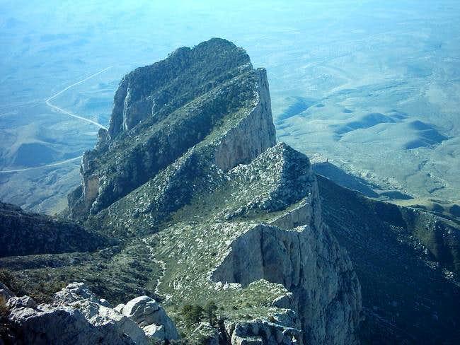El Capitan as viewed from...
