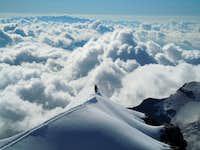 Ridge of the Piz Palù (Alps)