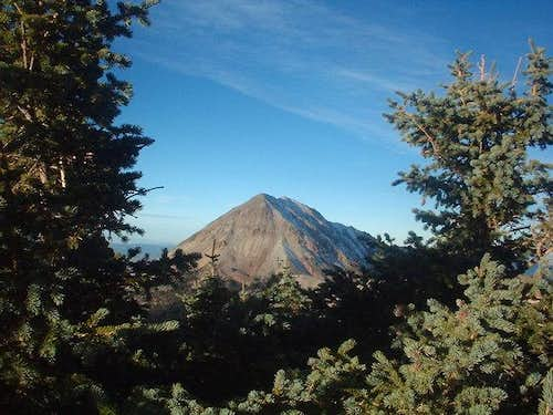 Baldy as seen from the east...