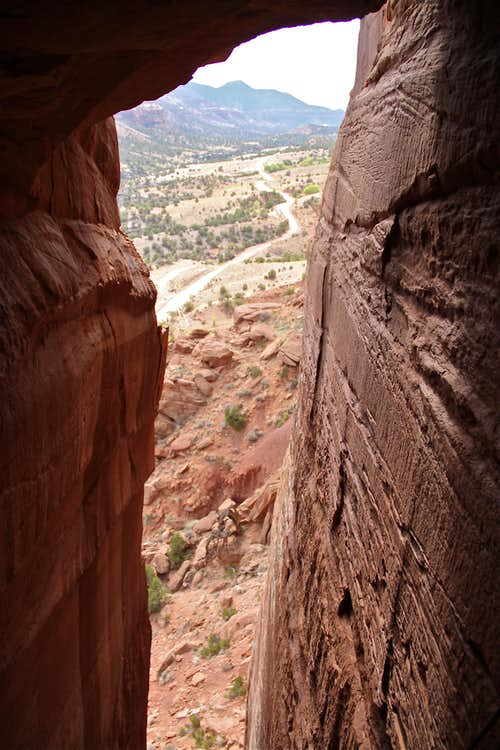 View from Cave routes