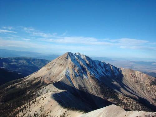 Mount Baldy as seen from the...