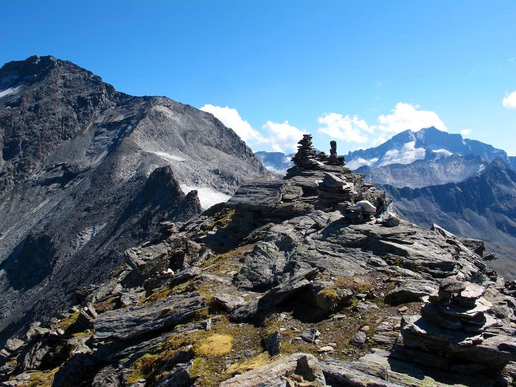 On the summit of Grauleitenspitze (2893m)