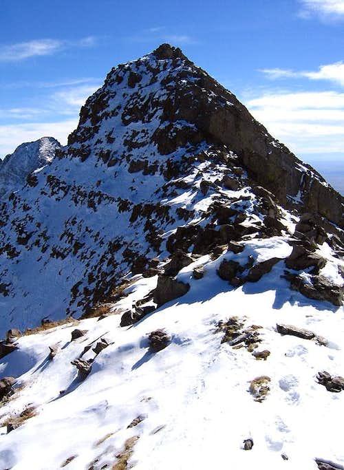 Mount Adams' summit