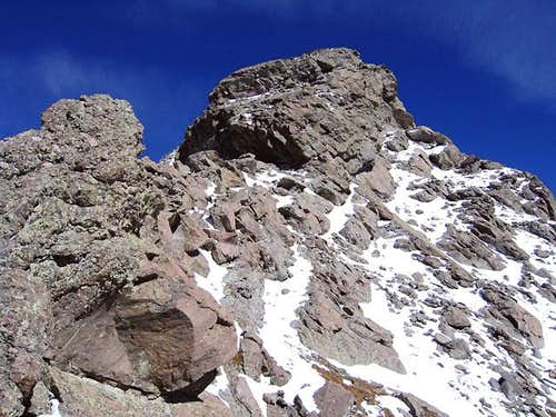 Mount Adams\' summit block. If...