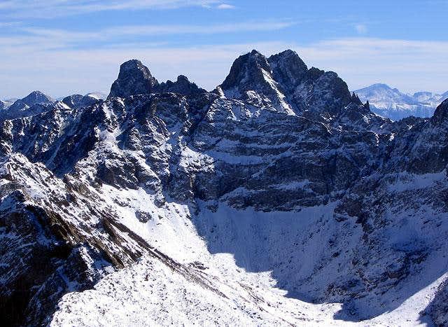 The Crestone Peaks