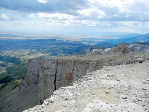 Ear Mountain Summit Plateau