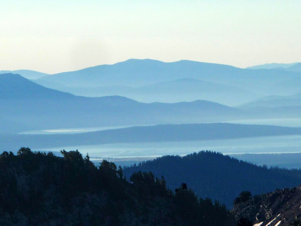 Blue Ridges from Eagle Peak