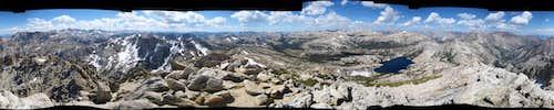 Crown Point summit panorama
