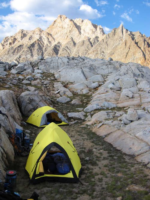 Humphreys Basin camp