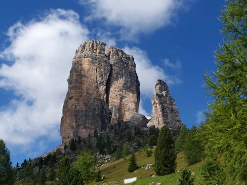 The Towers seen