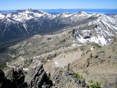 Summit view west