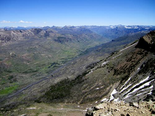 Summit view north