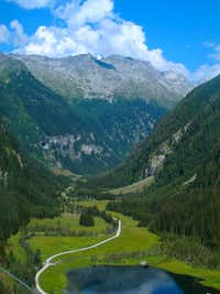 The beautiful Seebachtal valley