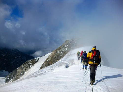 Hohe Riffl summit - almost there