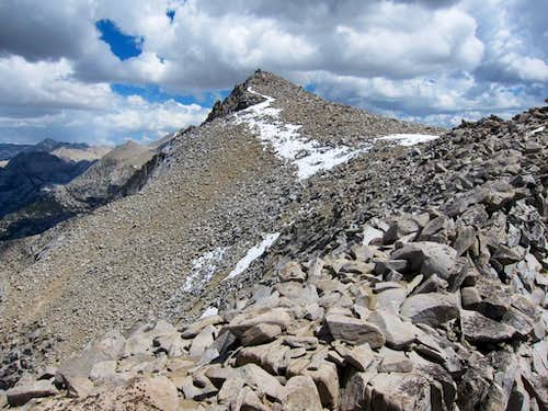 Mount Hooper Summit Ridge