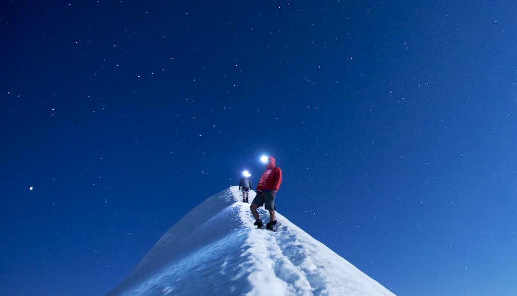 Summit Ridge at Night
