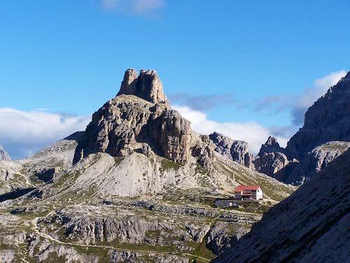 Dolomites mountain huts