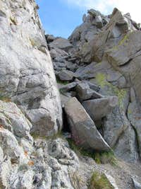 Notch to Independance Peak Ridge