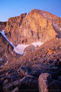 Longs Peak from Mount Lady Washington