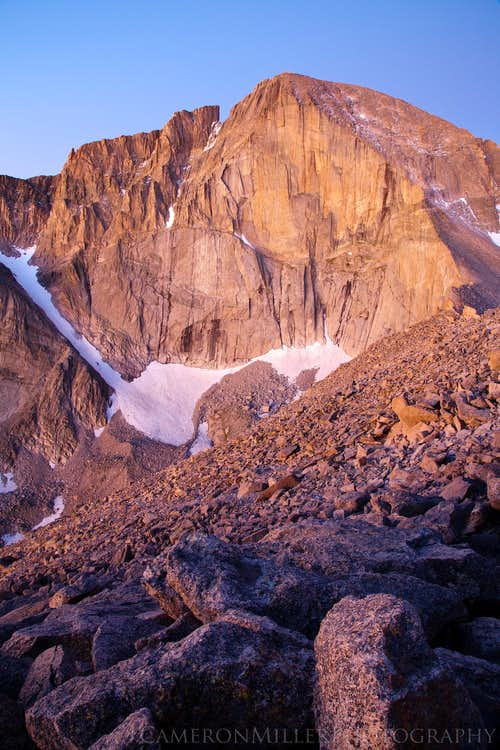 Longs Peak from Mount Lady Washington