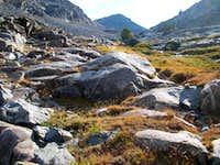 inital view of Abel Peak