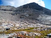 north ridge of Abel Peak