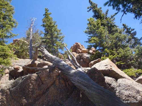 Boulders between McKinley and San Luis