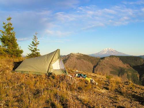 Campsite on Goat Mountain\'s...