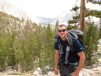 Me on the JMT, Kings Canyon NP