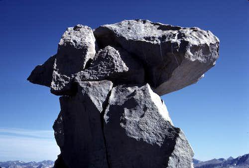 Mt. Hooper summit block