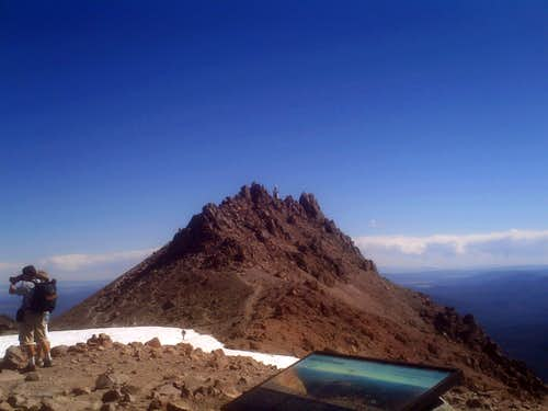 The Goal the true summit of Lassen