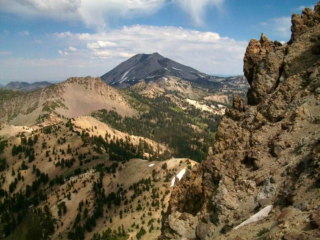 Mountain Lassen from Brokeoff Mountain