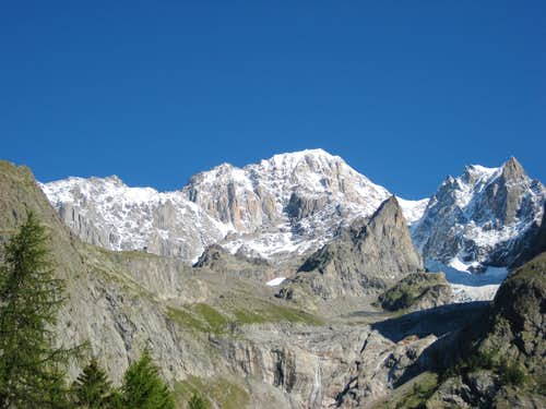 Mont Blanc - South Side 2011